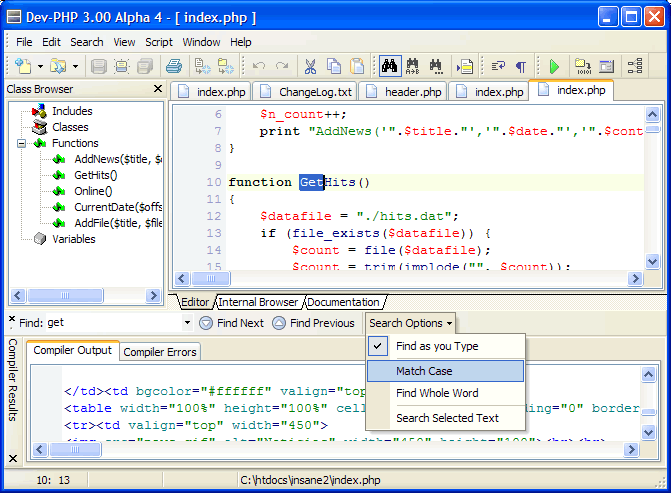 Dev-PHP 2.6.1.27 full